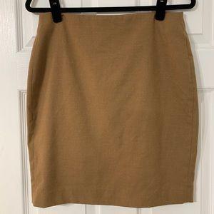 Banana Republic Camel Pencil Skirt